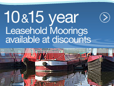 10 & 15 year leashold moorings available